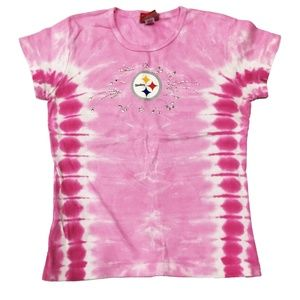 Pittsburgh Steelers NFL Girls T-Shirt Size Large